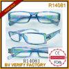 Vidros de Glasses&Reading da leitura da forma com frame da flor (R14081)