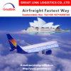 Vervoer van de Verzending van de lucht (druk/Huis-aan-huis) uit de Dienst van China aan Australië