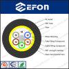 Force à haute résistance 6 24 fabrications de fibre optique de câble de noyau
