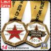 2017 personalizzare le medaglie in lega di zinco del metallo di sport del pezzo fuso