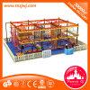 Dynamicdehnungs-Serien-hölzernes Innenspielplatz-Geräten-Seil-Netz
