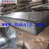 Feuilles en acier ondulées de toiture