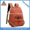 キャンバスの余暇のバックパックをハイキングする男女兼用の女性方法ジッパー袋旅行