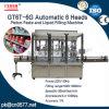 クリーム(GT6T-6G)のための自動6つのヘッドピストンのりそして液体充填機