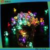La más nueva luz de la Navidad Solar-Accionada de la decoración de la flor 2016 dimensión de una variable