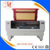 Maschine CO2 Laser-Cutting&Engraving mit roter Maschinen-Karosserie (JM-1410H-CCD)