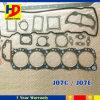 Kit pieno della guarnizione di revisione di J07c J07e per le parti del motore diesel di Hino