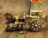 Modelos hechos a mano hermosos de madera del carro