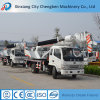 Móbil usado elevado da eficiência de funcionamento guindaste pequeno do caminhão de 8 toneladas com braço hidráulico