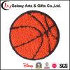Подгонянный синель вышивки баскетбола латает утюг на заплатах для одежды