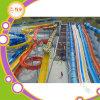 Glissière commerciale d'adultes de fibre de verre de glissières d'eau de grand de l'eau matériel de stationnement à vendre