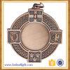 カスタム銅のスポーツ3Dのフットボールのサッカーメダル