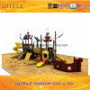 114mm電流を通されたポストの多彩な海賊船の子供の屋外の運動場装置