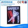 Retângulo de Hidly o sinal do diodo emissor de luz do barbeiro de Ásia