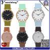 Mens di nylon della vigilanza di promozione del Wristband di marca delle nuove donne di disegno Yxl-085 della vigilanza delle signore di modo del cuoio della tela di canapa di lusso dell'orologio