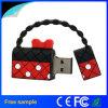 Mecanismo impulsor 4GB del flash del USB del bolso de la mujer de la muchacha de la belleza del regalo de la promoción