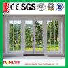 明確な二重ガラスの開き窓のドア