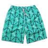 2017 Shorts stampati Swimwear della spiaggia di Shorts di modo di estate per gli uomini