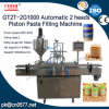 Máquina de rellenar neumática principal automática de la salsa de 2 chiles (GT2T-2G1000)