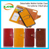 iPhone 7/6s/6를 위한 분리가능한 지갑 전화 홀더 전화 상자 플러스