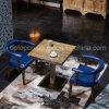 装飾された肘掛け椅子(SP-CT797)が付いている型様式の材木のレストランの家具セット