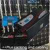格子システム2kw太陽3000Wインバーターか充電器50AMP 928を離れてああ11 KWH電池バンク