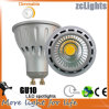 Dimmable LED GU10 con 7W la lámpara de la MAZORCA LED
