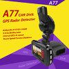3 in 1 1080P FHD Ambarella A7 GPS van de Auto DVR Detector van de Radar met het Registreertoestel van de Camera van de Versie van de Nacht