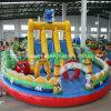 2014 más nuevo inflable gigante Castillo Frutas Diapositivas de juegos infantil