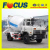 Dongfeng 4X2 6m3 Concrete Mixing Lorry con Cummins Engine