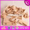 子供オンラインW10b189のための新しいよのデザイン自然な木の台所Playsets