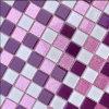 Azulejo de mosaico de cristal casero del material de construcción del cuarto de baño de la decoración