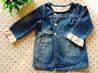 Горячее платье девушки платья `s Jean младенца способа сбывания (D012)
