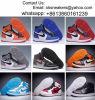 卸し売りヨルダンの1バスケットボールは人の女性Jordansを1バスケットボール靴の高品質の男の子の女の子のレトロのJordans 3のバスケットボールのスニーカーの自由な出荷起動する