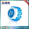 13.56MHz bracelet de silicones de l'IDENTIFICATION RF MIFARE pour les syndicats de prix ferme Waterparts et l'usager