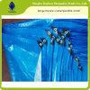 Bâche de protection personnalisée de polyéthylène pour la couverture de camion