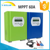 régulateur solaire de 60AMP MPPT 12V/24V/48V avec la transmission Smart2-60A de RS232+LAN