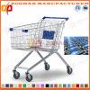 슈퍼마켓 유럽 작풍 아연 또는 크롬 쇼핑 카트 트롤리 (Zht15)