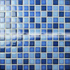 mattonelle di mosaico di ceramica lucide della piscina di miscela blu di 23X23mm (BCH003)