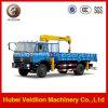 De Vrachtwagen van Dongfeng 4X2 5ton met Kraan
