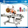 Maquinaria de rotulagem automática da etiqueta adesiva ascendente ou irregular da etiqueta do frasco