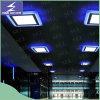 Le plafond carré en bas 2 de la couleur 6W 9W 16W amincissent le voyant de DEL