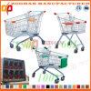 Supermarkt-Euroart-Zink-Einkaufen-Laufkatze (Zht11)