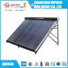 Sistema de calentador de agua solar 500liters acero inoxidable con tanque auxiliar