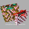 Le scintillement populaire de vendeur supérieur repère le sac d'emballage de cadeau de papier de carton d'impression par points