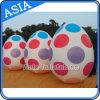 Balão inflável famoso do ovo de Colorfull do hélio do anúncio de tipo para Easter