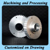 Изготовленный на заказ алюминиевый подвергли механической обработке CNC части, котор (T7075)