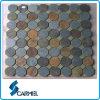 Building를 위한 아름다운 Round Slate Mosaic
