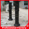 Columna romana de mármol negra Polished