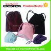 Eco-Friendly Colorful Digtal Products Pouch Drawstring Velvet Bag